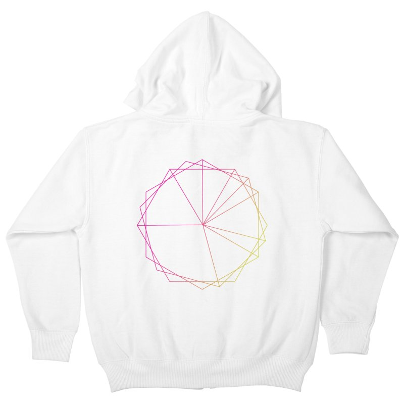 Maypole Symbol II Kids Zip-Up Hoody by Torn Space Theater's Artist Shop