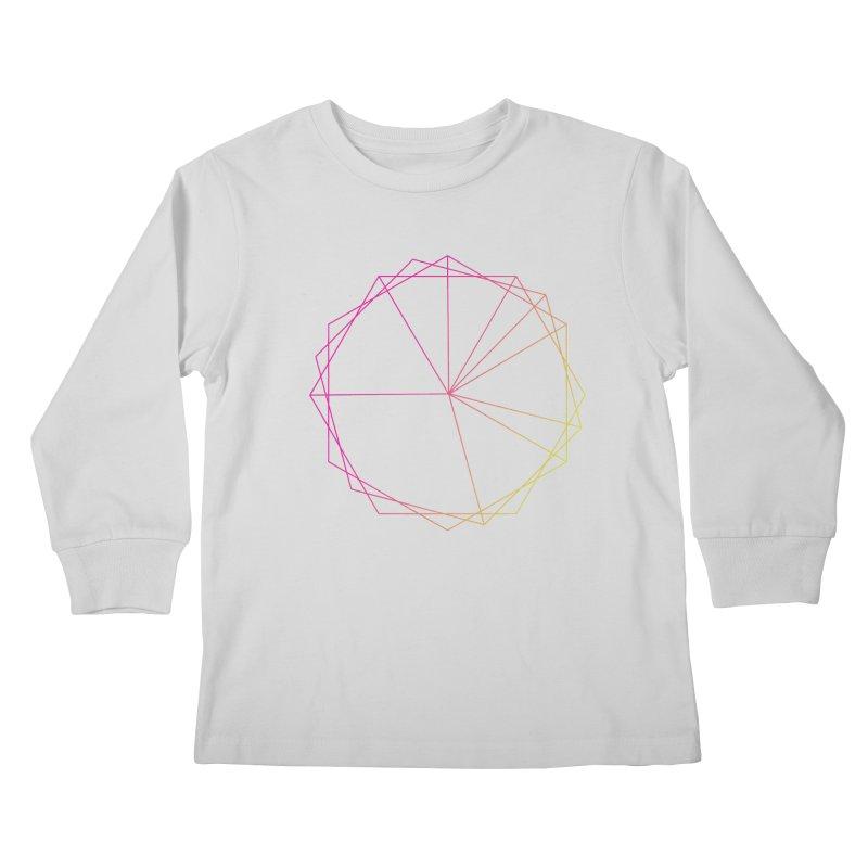 Maypole Symbol II Kids Longsleeve T-Shirt by Torn Space Theater's Artist Shop