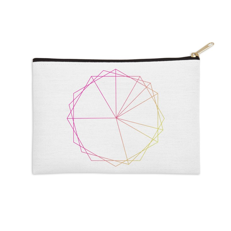 Maypole Symbol II Accessories Zip Pouch by Torn Space Theater's Artist Shop