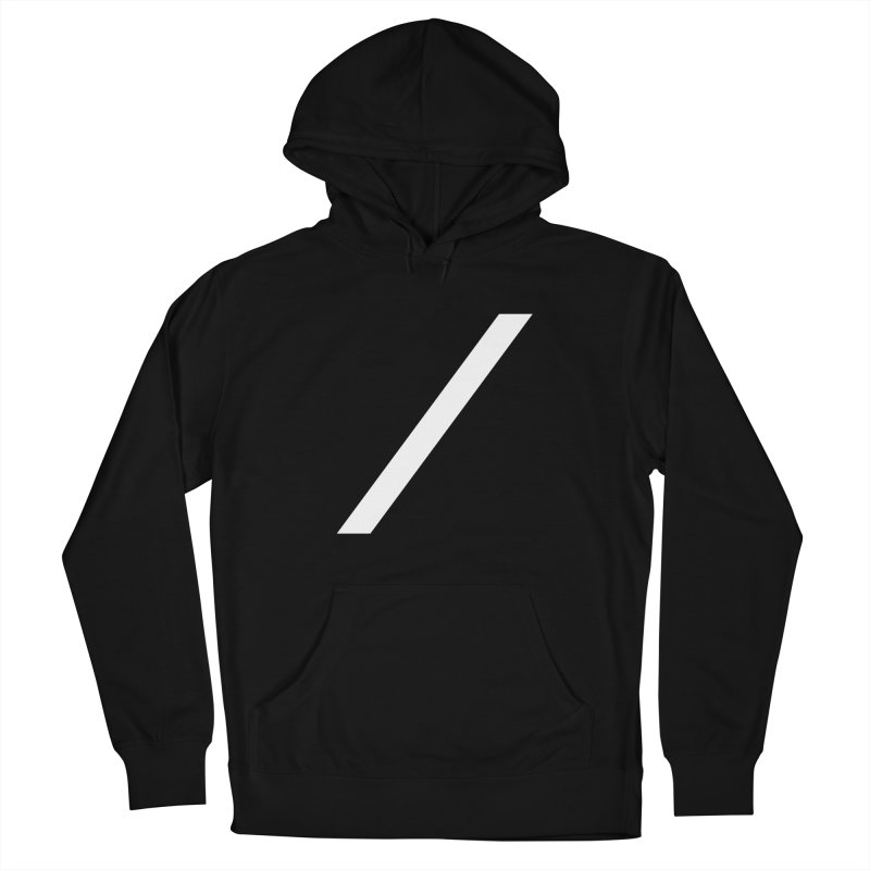 Slash - White Men's Pullover Hoody by Torn Space Theater Merch