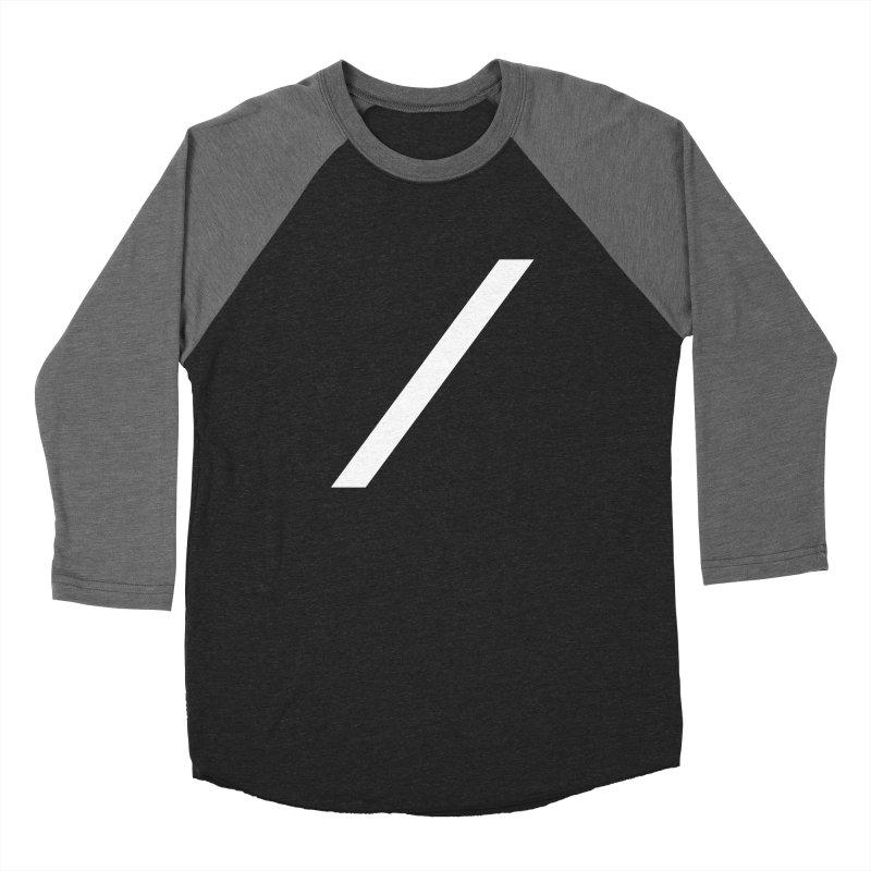 Slash - White Women's Longsleeve T-Shirt by Torn Space Theater Merch