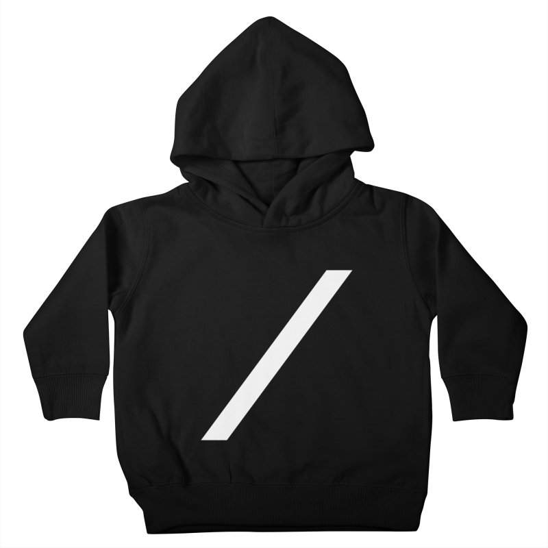 Slash - White Kids Toddler Pullover Hoody by Torn Space Theater Merch