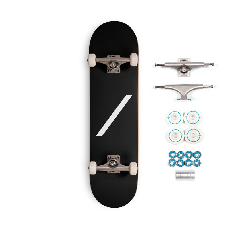 Slash - White Accessories Skateboard by Torn Space Theater Merch