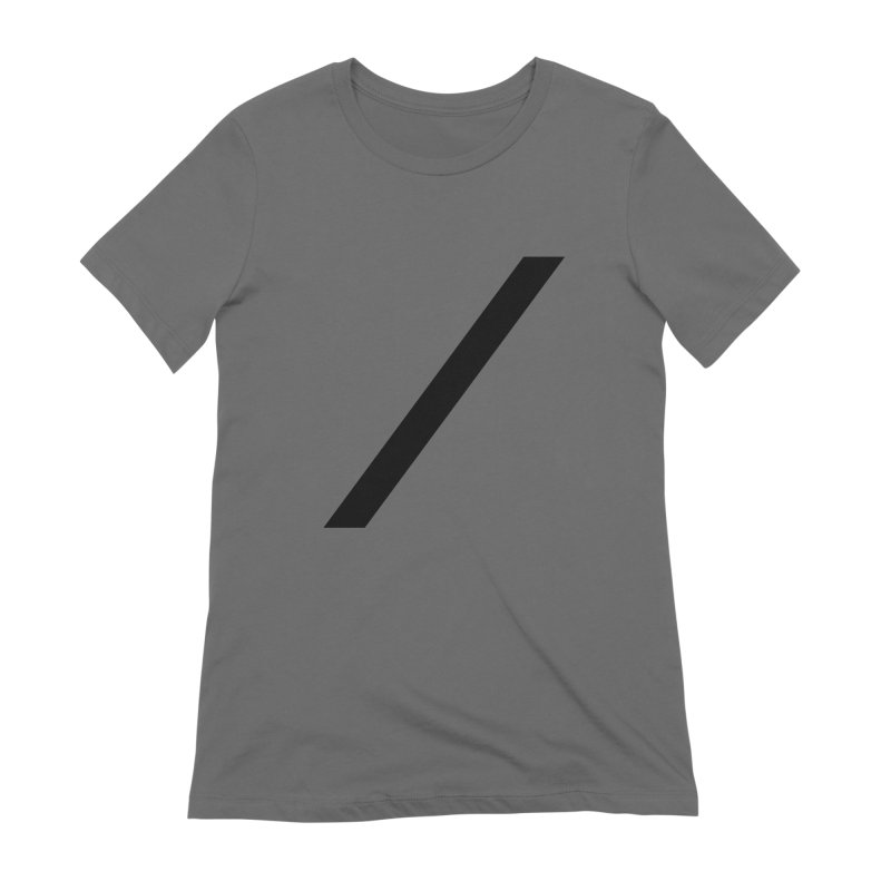 Slash - Black Women's T-Shirt by Torn Space Theater Merch