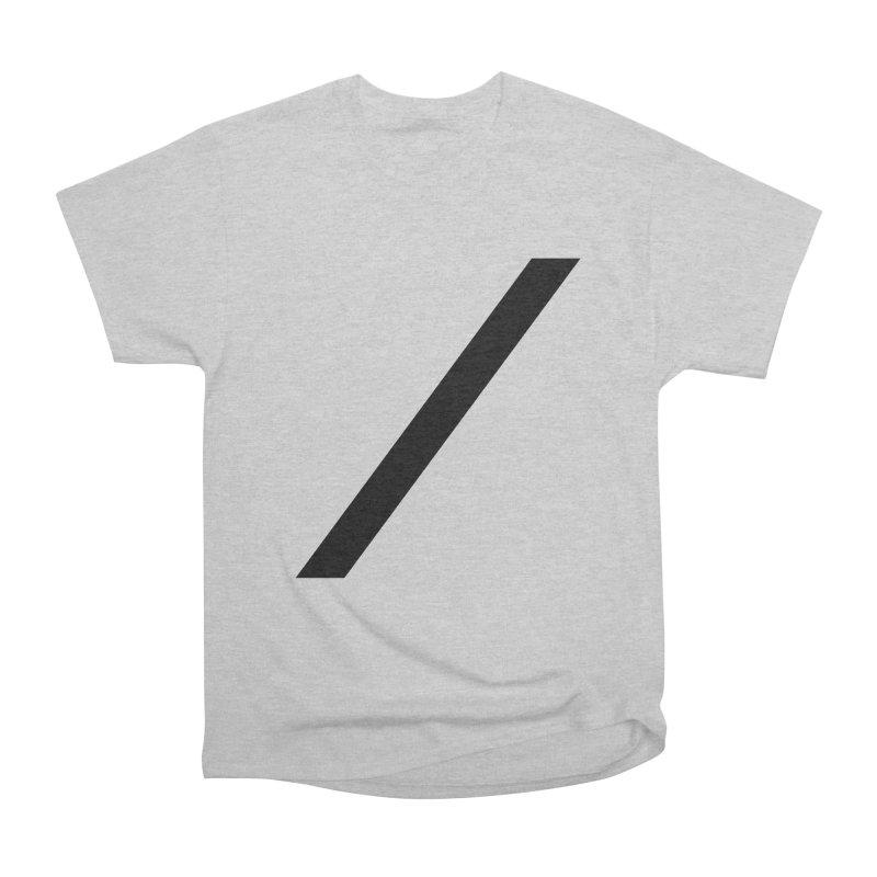 Slash - Black Men's T-Shirt by Torn Space Theater Merch