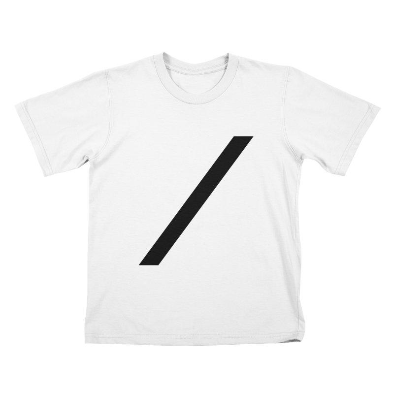 Slash - Black Kids T-Shirt by Torn Space Theater Merch