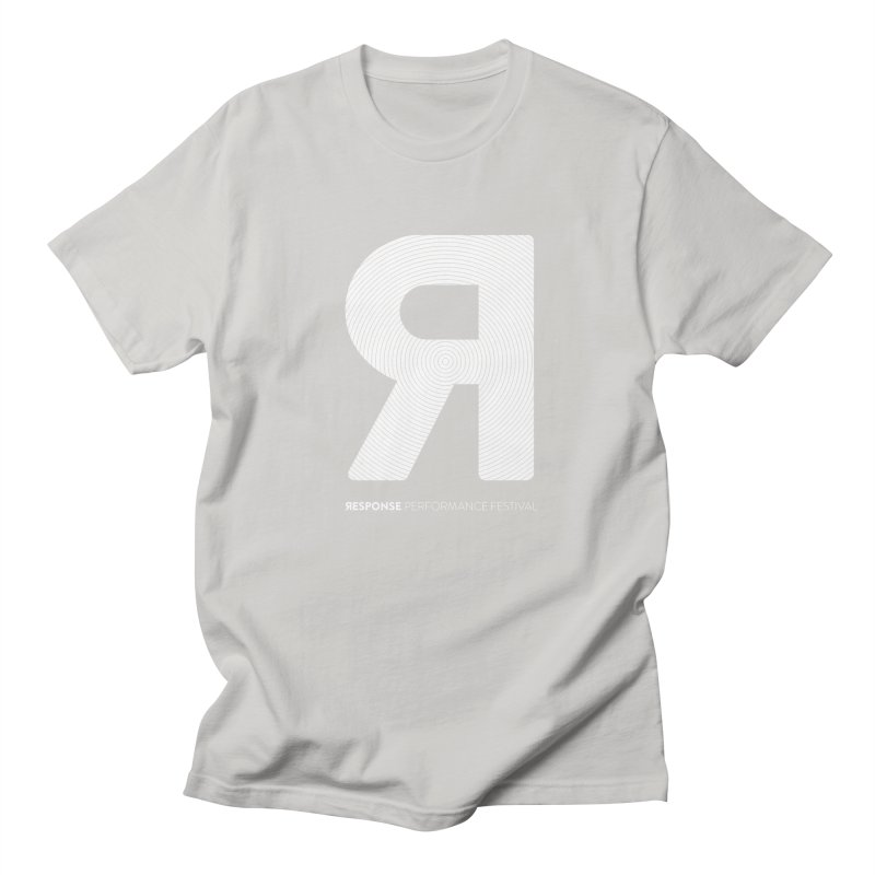 Response Performance Festival - white logo Women's Regular Unisex T-Shirt by Torn Space Theater's Artist Shop