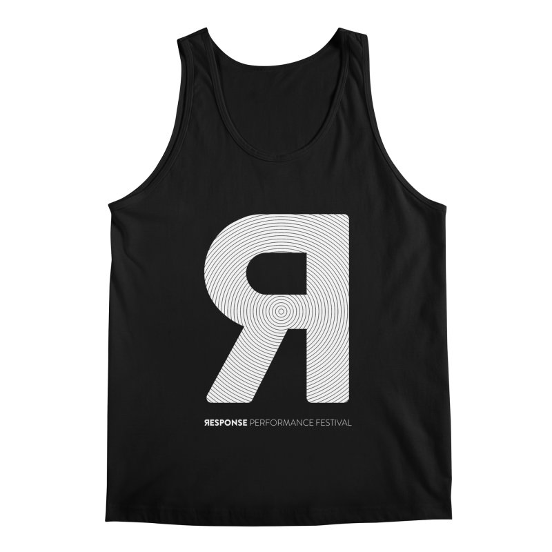 Response Performance Festival - white logo Men's Regular Tank by Torn Space Theater Merch