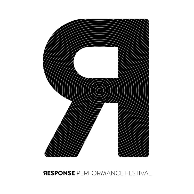 Response Performance Festival - black logo by Torn Space Theater Merch