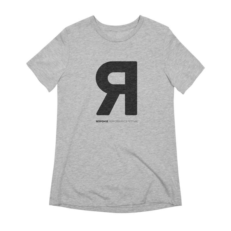 Response Performance Festival - black logo Women's Extra Soft T-Shirt by Torn Space Theater Merch