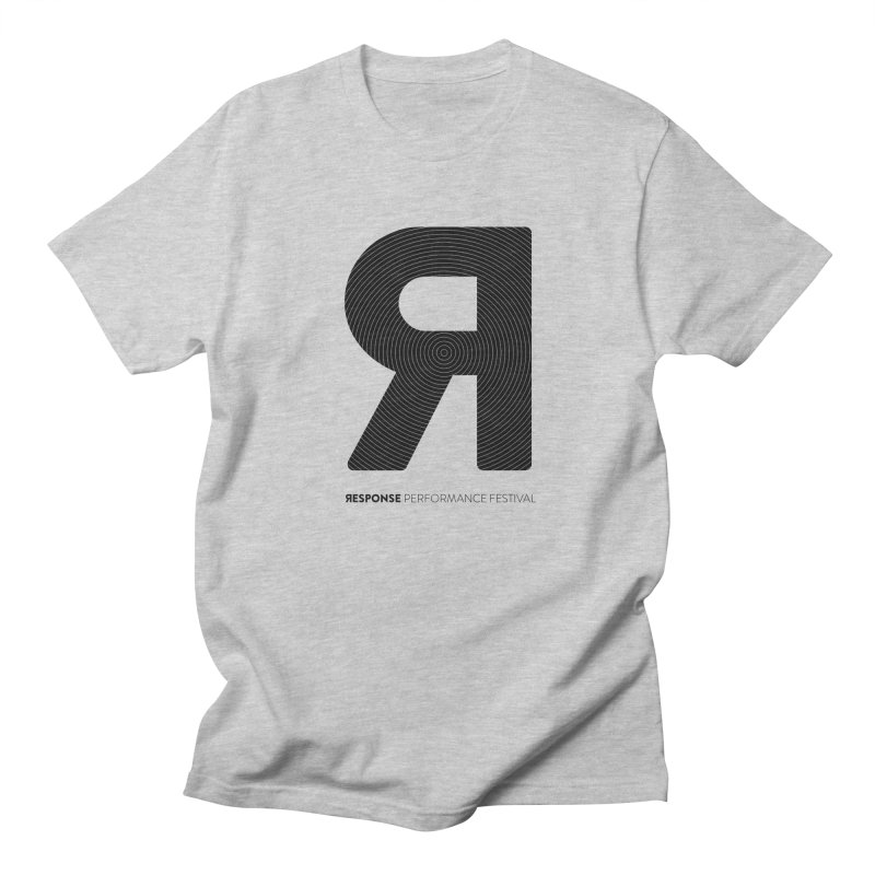 Response Performance Festival - black logo Women's Regular Unisex T-Shirt by Torn Space Theater's Artist Shop