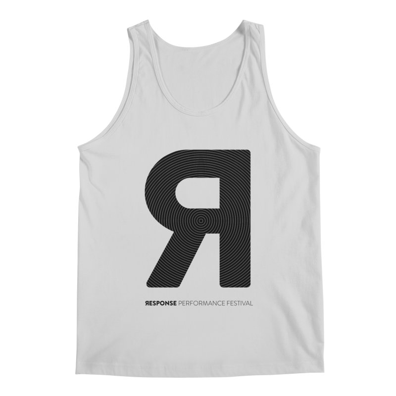 Response Performance Festival - black logo Men's Regular Tank by Torn Space Theater Merch