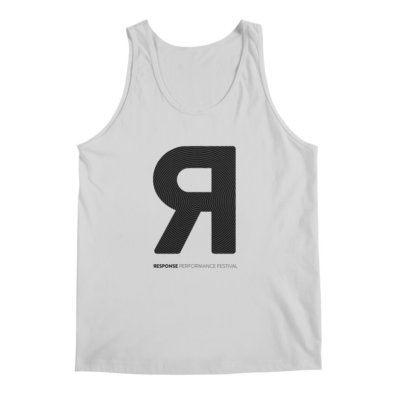 Response Performance Festival - black logo Men's Tank by Torn Space Theater's Artist Shop