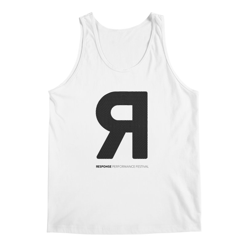 Response Performance Festival - black logo Men's Regular Tank by Torn Space Theater's Artist Shop