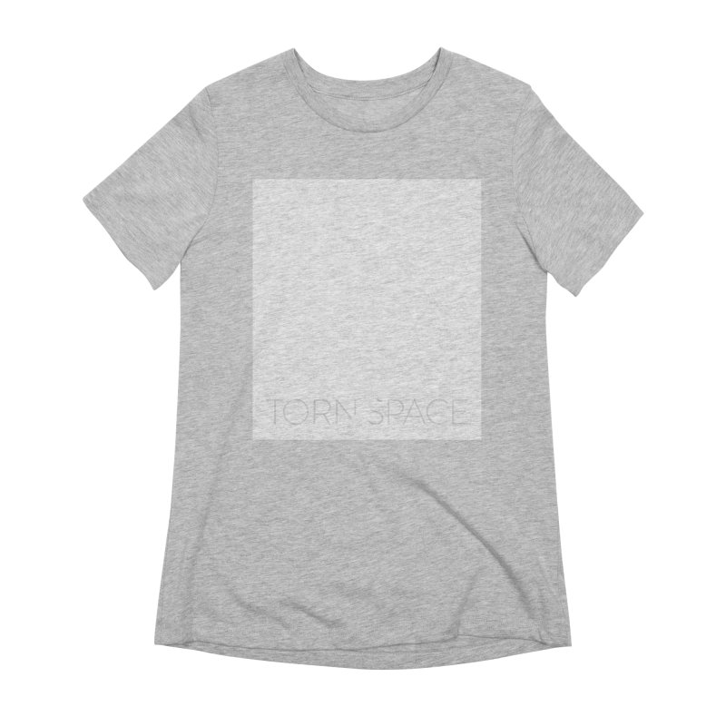 Torn Space - White Field Women's Extra Soft T-Shirt by Torn Space Theater Merch