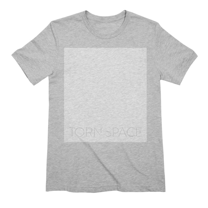 Torn Space - White Field Men's Extra Soft T-Shirt by Torn Space Theater Merch