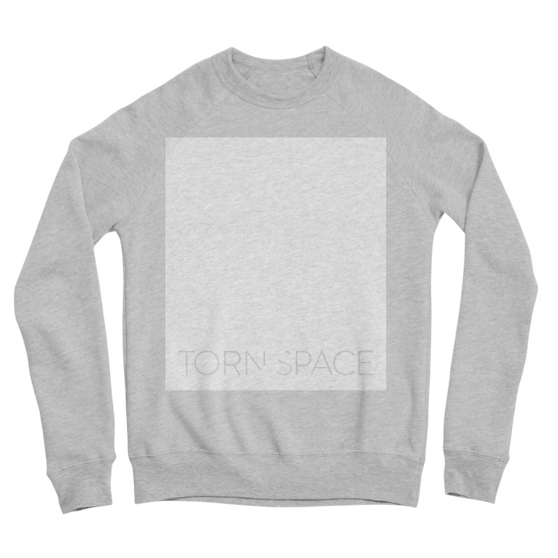 Torn Space - White Field Men's Sponge Fleece Sweatshirt by Torn Space Theater Merch