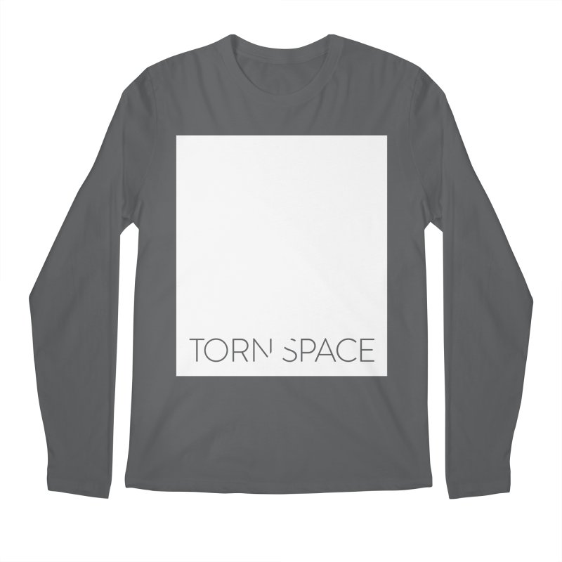 Torn Space - White Field Men's Longsleeve T-Shirt by Torn Space Theater Merch