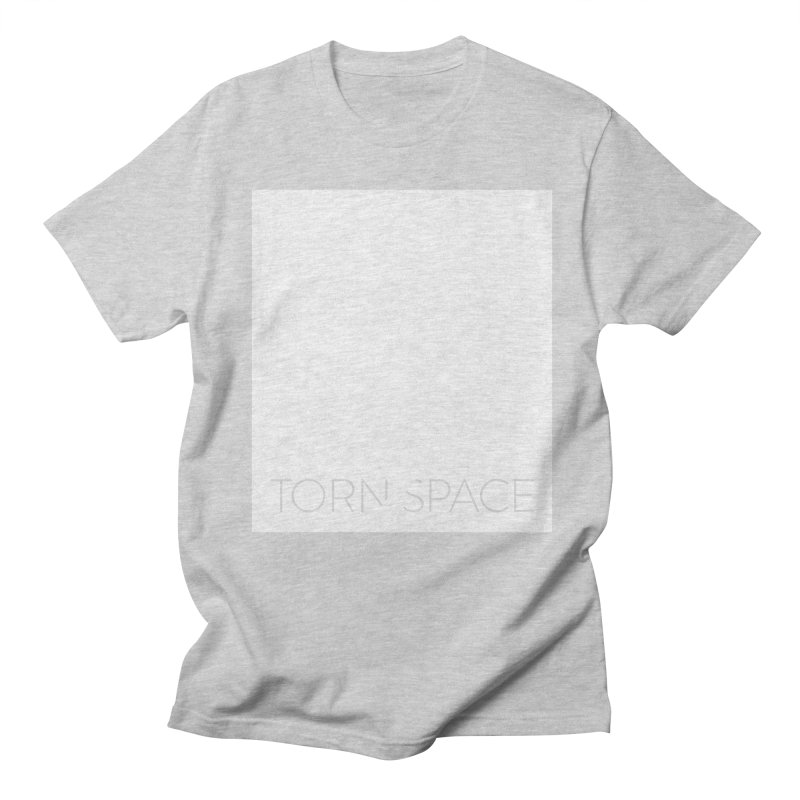Torn Space - White Field Men's Regular T-Shirt by Torn Space Theater Merch