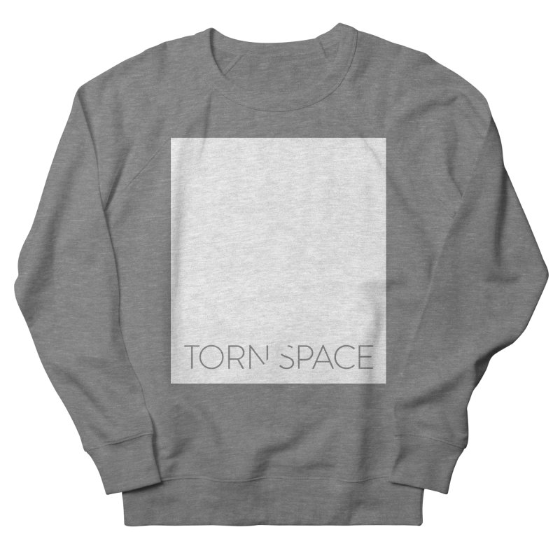Torn Space - White Field Women's French Terry Sweatshirt by Torn Space Theater Merch