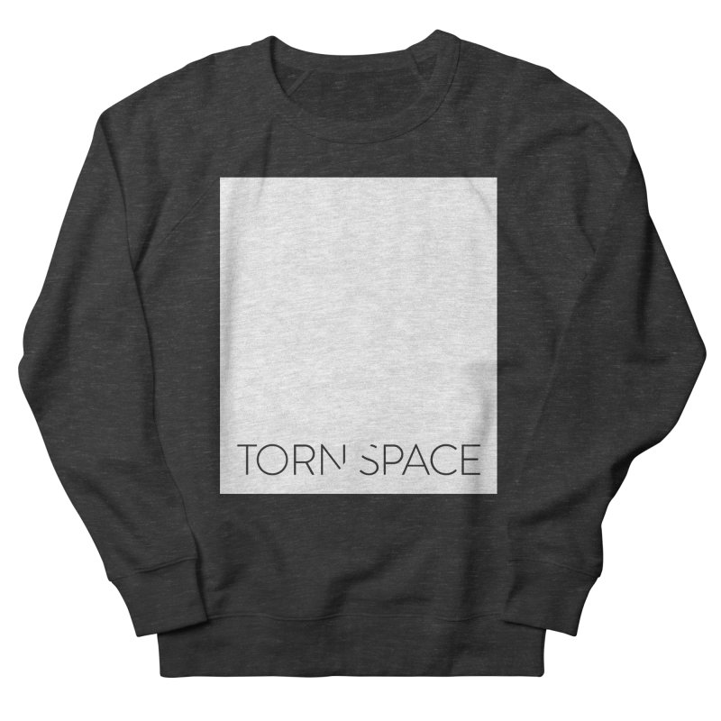 Torn Space - White Field Men's French Terry Sweatshirt by Torn Space Theater Merch