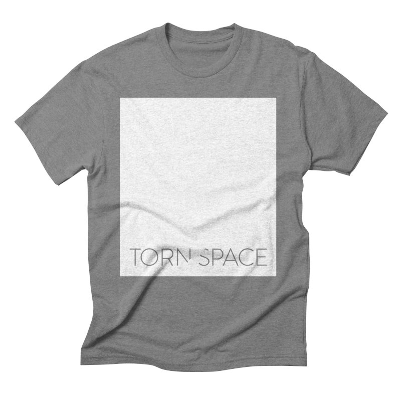 Torn Space - White Field Men's Triblend T-Shirt by Torn Space Theater Merch