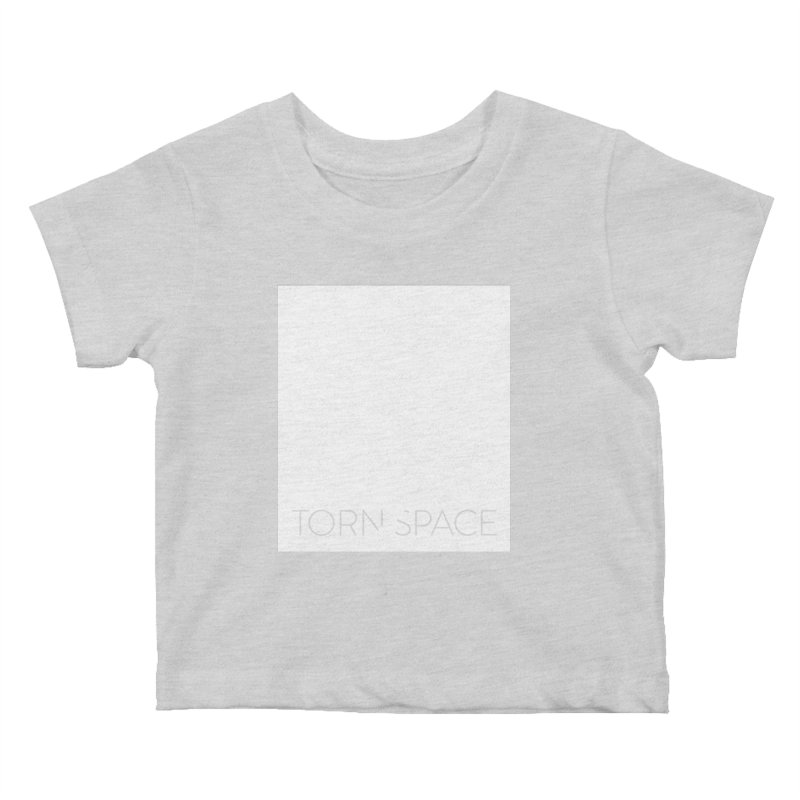 Torn Space - White Field Kids Baby T-Shirt by Torn Space Theater Merch