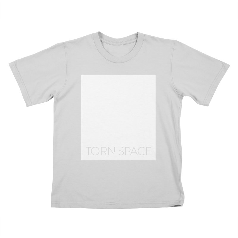Torn Space - White Field Kids T-Shirt by Torn Space Theater Merch