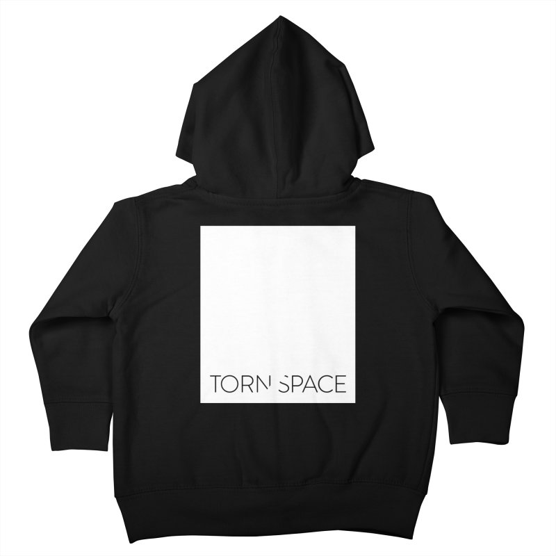 Torn Space - White Field Kids Toddler Zip-Up Hoody by Torn Space Theater Merch