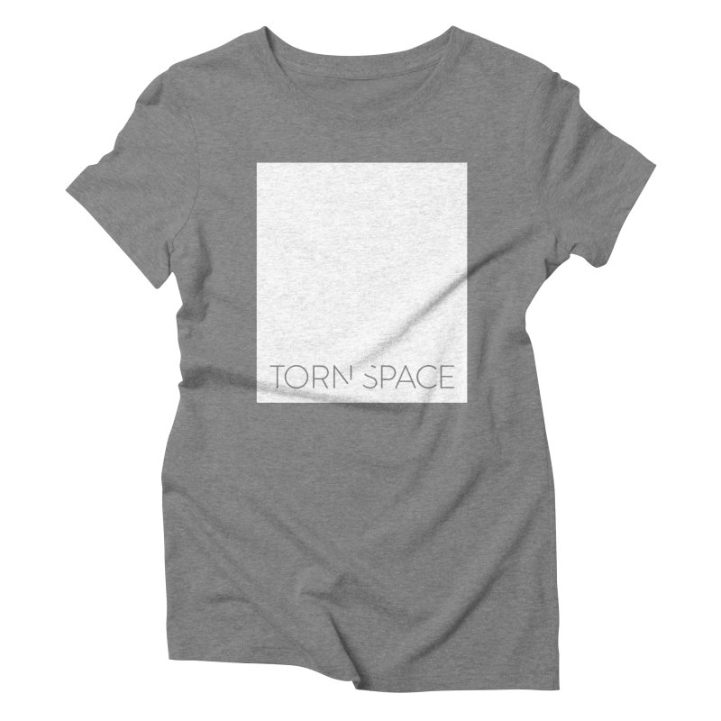 Torn Space - White Field Women's Triblend T-Shirt by Torn Space Theater Merch