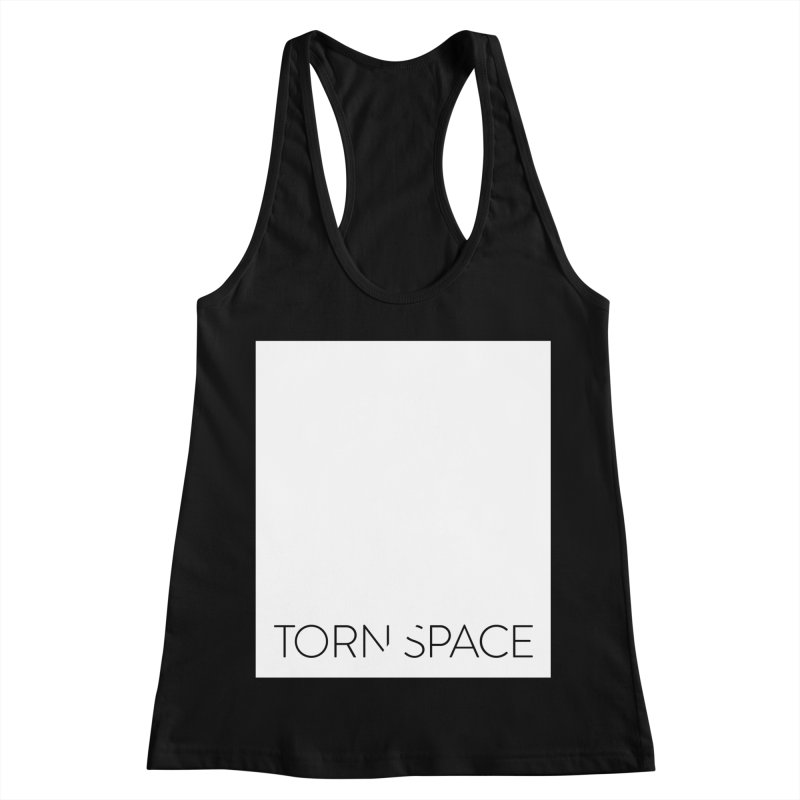 Torn Space - White Field Women's Racerback Tank by Torn Space Theater Merch