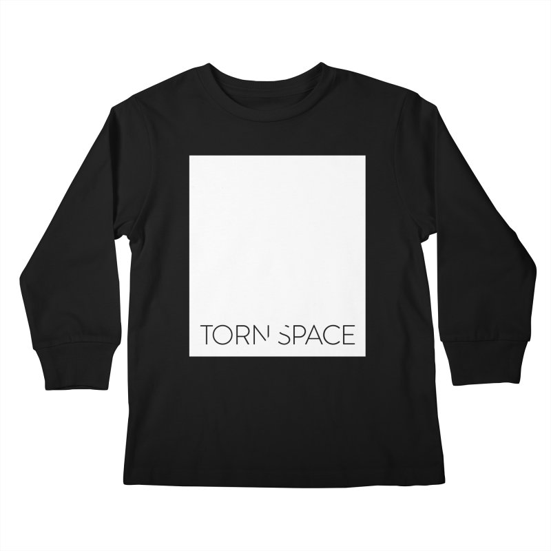 Torn Space - White Field Kids Longsleeve T-Shirt by Torn Space Theater Merch