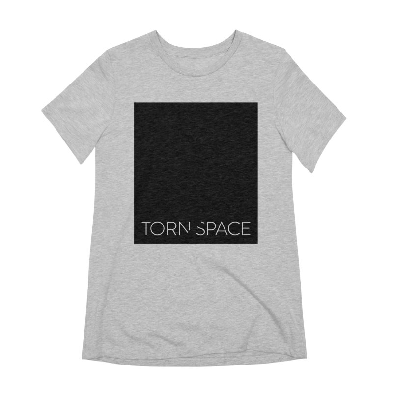 Torn Space - Black Field Women's Extra Soft T-Shirt by Torn Space Theater Merch