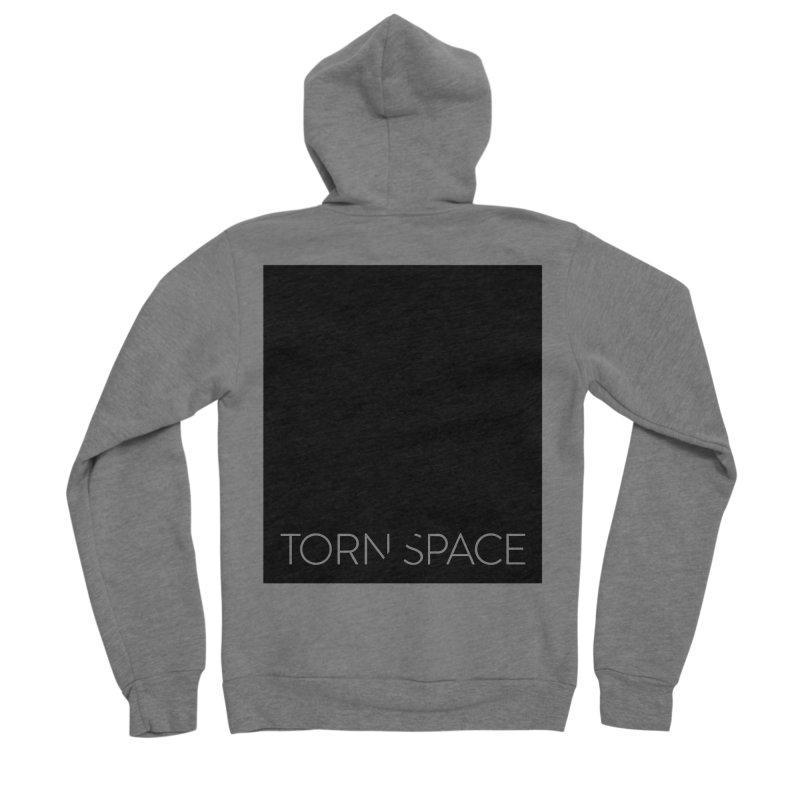 Torn Space - Black Field Men's Sponge Fleece Zip-Up Hoody by Torn Space Theater Merch