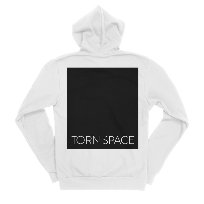 Torn Space - Black Field Men's Zip-Up Hoody by Torn Space Theater Merch