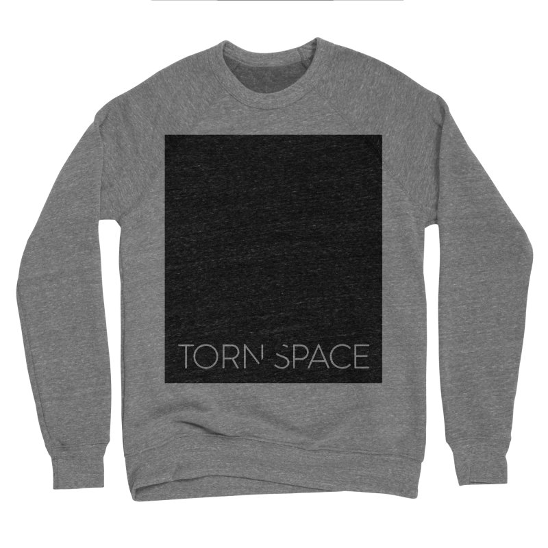 Torn Space - Black Field Men's Sponge Fleece Sweatshirt by Torn Space Theater Merch