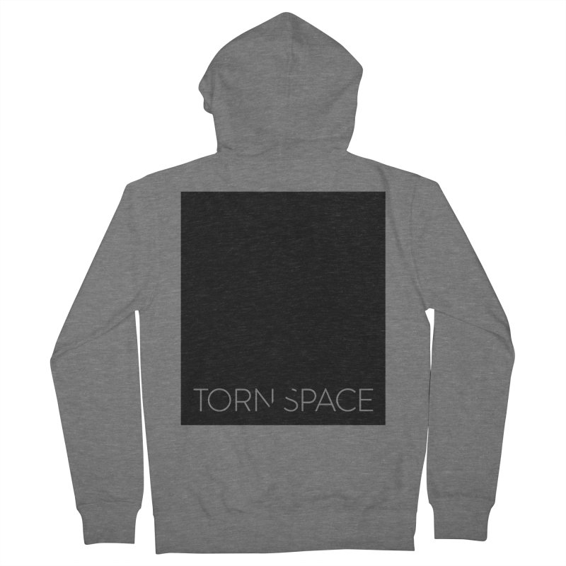 Torn Space - Black Field Women's French Terry Zip-Up Hoody by Torn Space Theater Merch