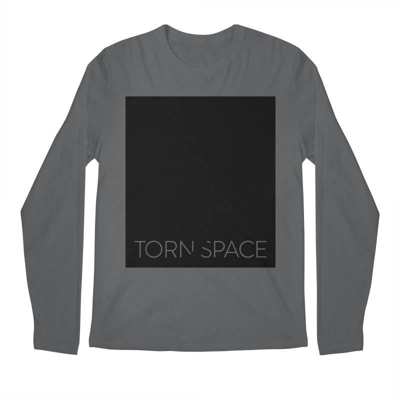 Torn Space - Black Field Men's Regular Longsleeve T-Shirt by Torn Space Theater Merch