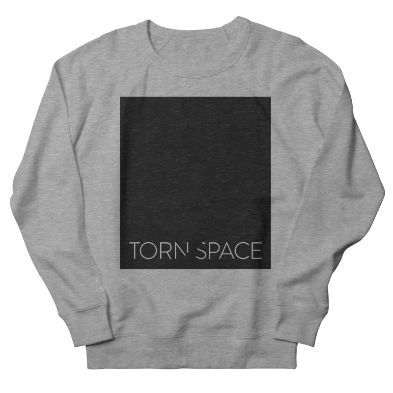 Torn Space - Black Field Men's French Terry Sweatshirt by Torn Space Theater Merch
