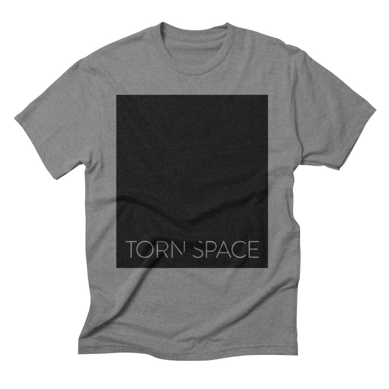 Torn Space - Black Field Men's Triblend T-Shirt by Torn Space Theater Merch