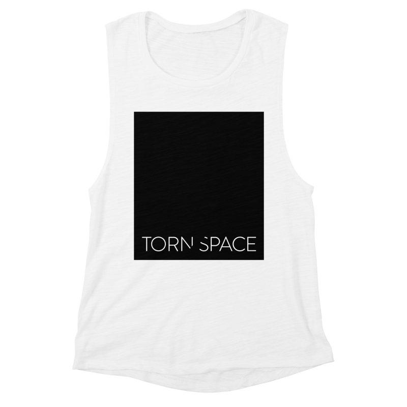 Torn Space - Black Field Women's Muscle Tank by Torn Space Theater Merch