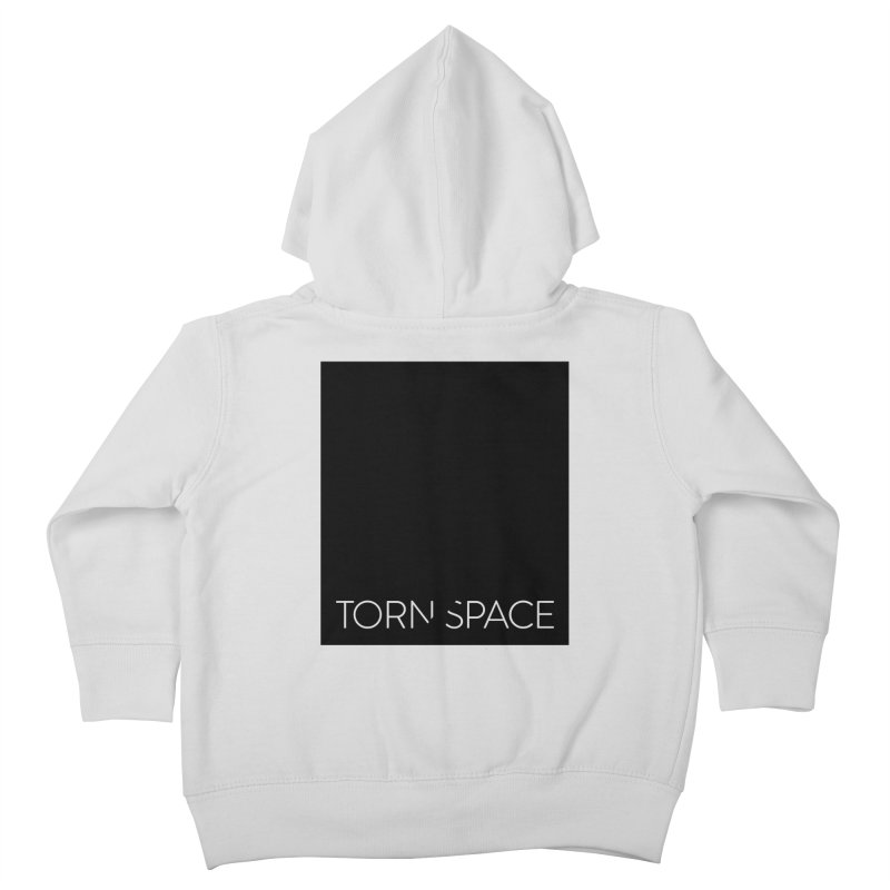 Torn Space - Black Field Kids Toddler Zip-Up Hoody by Torn Space Theater Merch