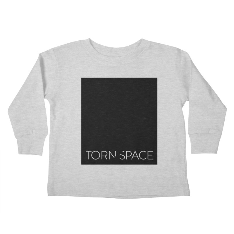 Torn Space - Black Field Kids Toddler Longsleeve T-Shirt by Torn Space Theater Merch