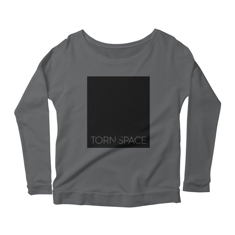 Torn Space - Black Field Women's Scoop Neck Longsleeve T-Shirt by Torn Space Theater Merch