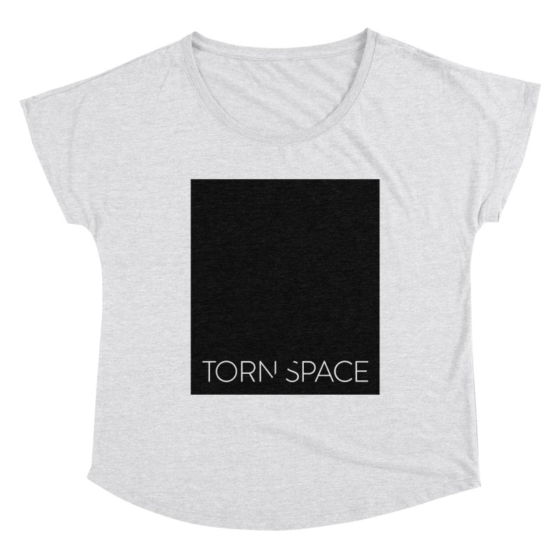 Torn Space - Black Field Women's Dolman Scoop Neck by Torn Space Theater Merch