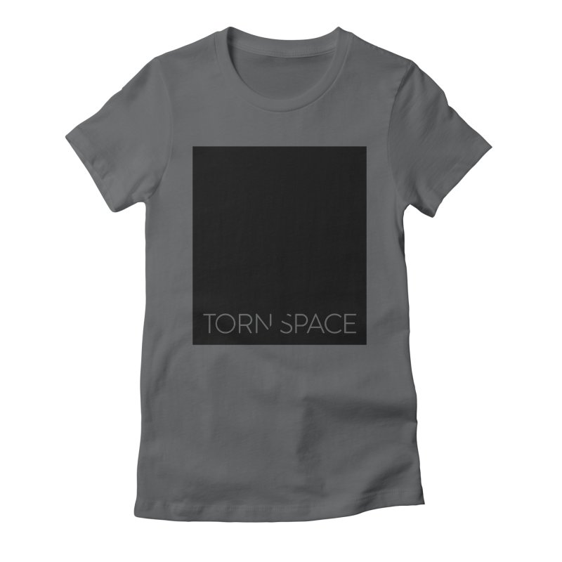 Torn Space - Black Field Women's Fitted T-Shirt by Torn Space Theater Merch