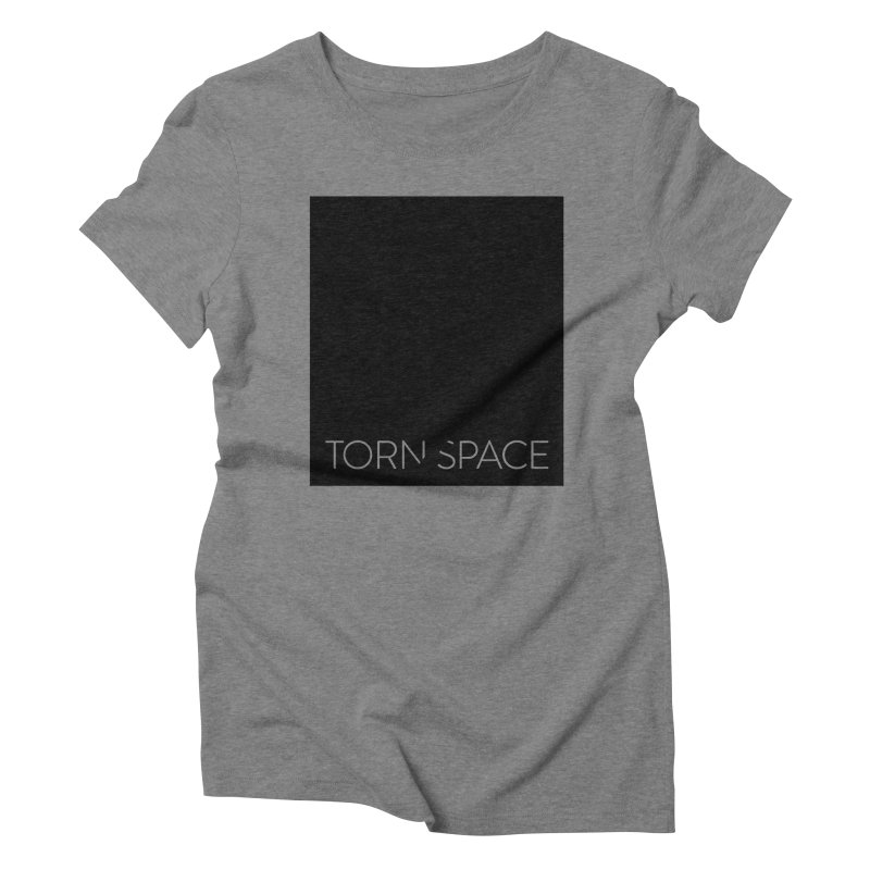 Torn Space - Black Field Women's Triblend T-Shirt by Torn Space Theater Merch