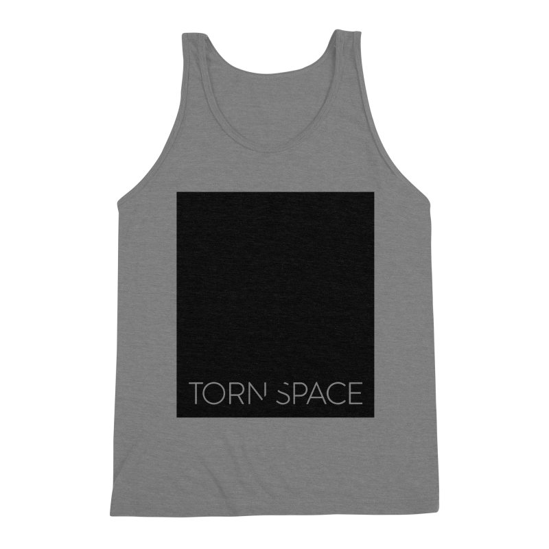 Torn Space - Black Field Men's Triblend Tank by Torn Space Theater Merch