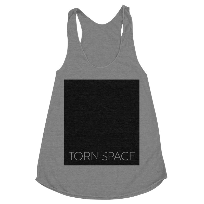 Torn Space - Black Field Women's Racerback Triblend Tank by Torn Space Theater Merch
