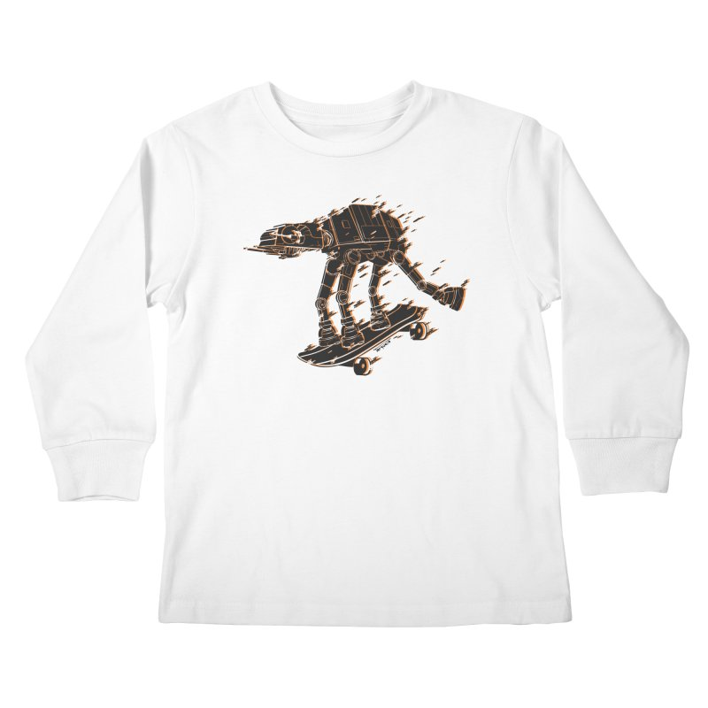 Speed Troop Kids Longsleeve T-Shirt by torquatto's Artist Shop